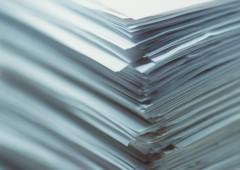 Olika papperstyper